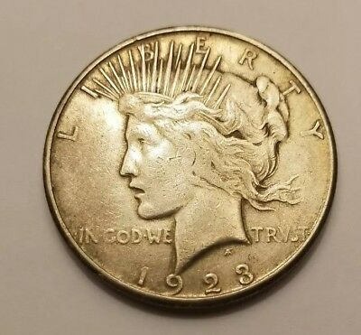 Early 1923-S Peace Silver Dollar