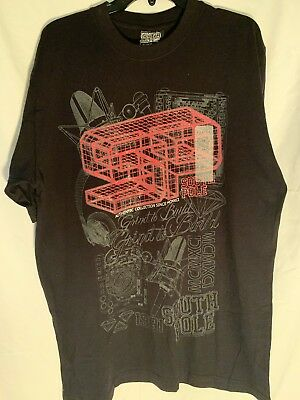 978720deff MENS SOUTHPOLE RED T-SHIRT Size L Large TRUTH   LIBERTY silver Black ...