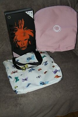 *rare* Brand New Bugaboo Bee Andy Warhol Butterflies Special Edition Extendable!