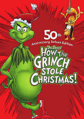 Dr. Seuss' How the Grinch Stole Christmas (Deluxe Edition), DVD, Boris Karloff,