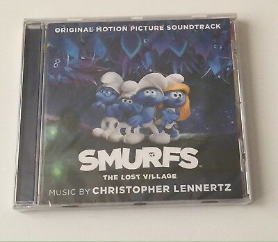 Smurfs:The Lost Village Original Motion Picture Soundtrack CD New Sealed
