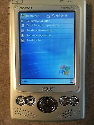Asus Mypal A620Bt Pocket Pc Bluetooth Neuf Complet