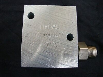Hydac 395236 connection housing for cartridge valve