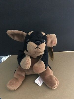 512caa7cf03 VERY RARE TY Doby Beanie Baby Style 4110 1996 PVC Pellets with TAG ...