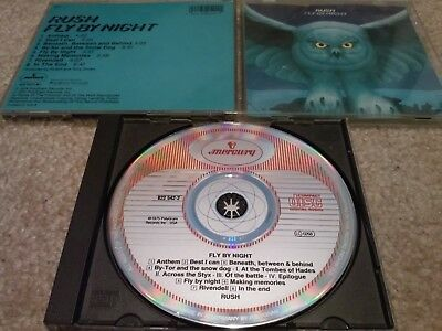 Rush - Fly By Night West Germany CD