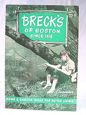 Vintage 1951 Breck's of Boston Advertising Catalog