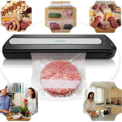 Food Vacuum Sealer Machine Automatic Saver System Storage Bag Preserving Kitchen