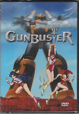 Gunbuster Complete Episodes 1-6 English Subtitles | All Region Rare OOP (DVD)