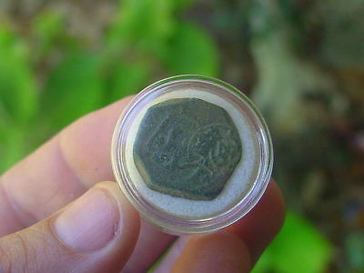AUTHENTIC 1600s PIRATE COB COIN TREASURE NICE DETAIL DATED 164?