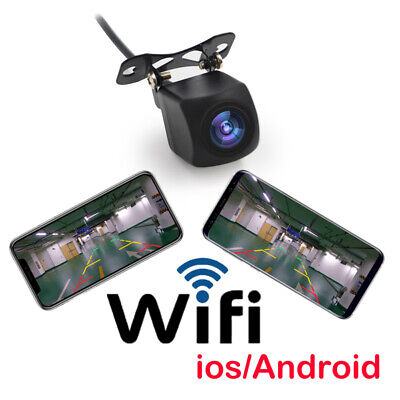 150° WiFi Wireless Car Rear View Backup Reverse Camera For iPhone Android NEW