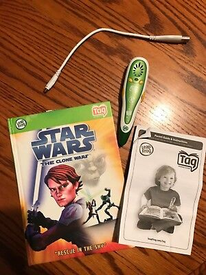 Leap Frog Green Tag Reader Replacement Stylus Pen N2390 #20800 Star Wars Clone