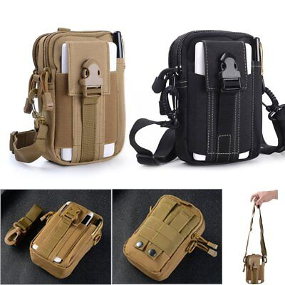 Waterproof Waist Fanny Pack Metal Detecting Finds Pouch Shoulder Camping Bag DM