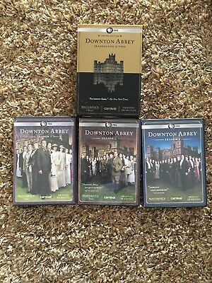 Masterpiece Classic: Downton Abbey Seasons One Two DVD 2012 6 Disc Limited 1 2 3