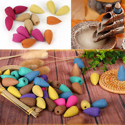 10/50Pcs Natural Smoke Tower Cones Bullet Fragrant Home Air Fresh Cleanning Cone