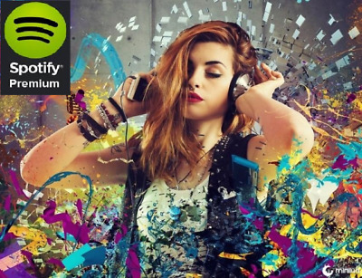 Spotify Premium 365 days Instant Delivery 5min