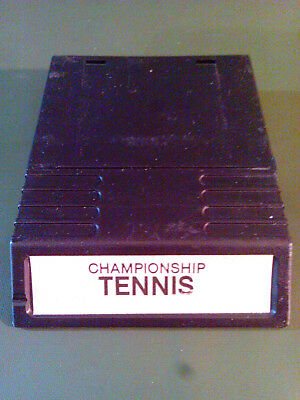 Championship Tennis (Intellivision, 1985) Cartridge Only (Tested/Working) RARE!!