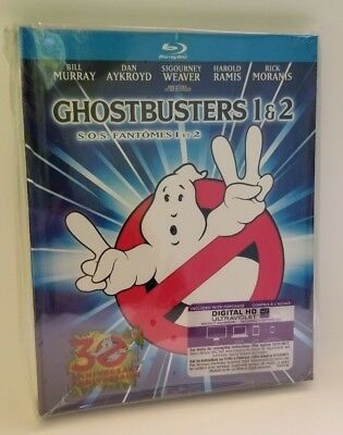 Ghostbusters / Ghostbusters 2 (Blu-ray, 2014,Mastered in 4K) Canadian Edition