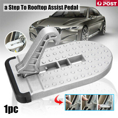 Doorstep Vehicle Access Roof Of Car Auto Door Step Latch Easily Rooftop Pedal LG