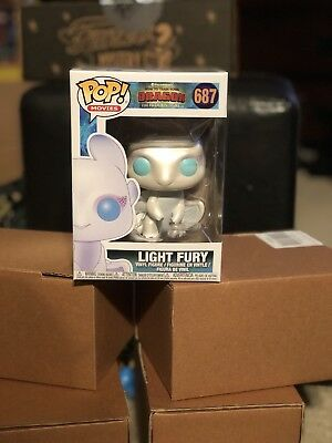 Light Fury - How to Train a Dragon - funko pop