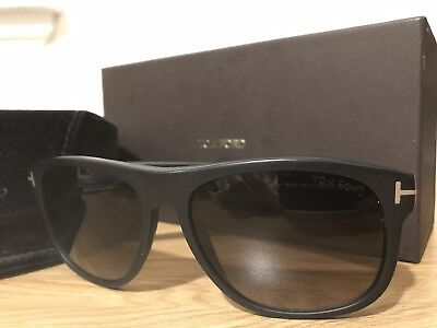 2fe5df25687 Authentic Tom Ford Olivier FT0236 TF 236 02D Matte Black Sunglasses Used W  Tags