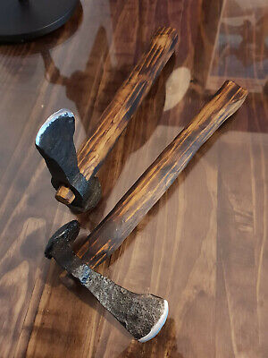 Hand Forged Rail Spike Axe