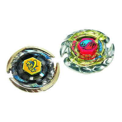2x Beyblade 4D K-Gemios DF145FS BB56 BB57 Metal Fusion Battle Top Fights Toy