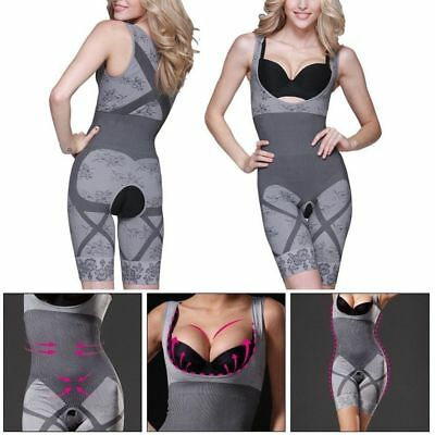 a5775d3fb70 BAMBOO CHARCOAL THERMAL Body Shaper -SEXY Corset Shapewear