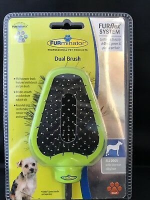 Furminator Dual  Brush for all dogs with short or silky hair.
