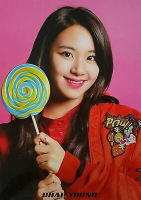 CHAEYOUNG TWICE - 12 PHOTO POSTERS + STICKER SET A3 Size Bromide