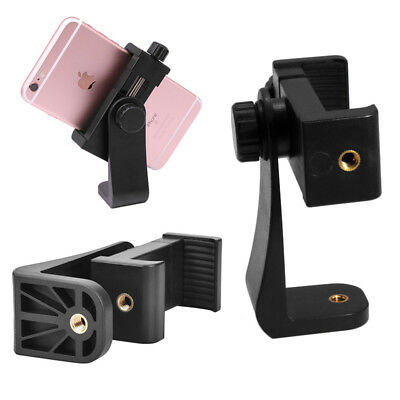 New Smartphone Tripod Adapter Phone Holder Mount Adjust Clamp for iPhone Samsung