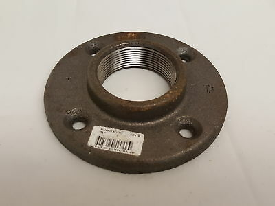 """Anvil 8700164109, Malleable Iron Pipe Fitting, Floor Flange, 2""""  (H105903)"""
