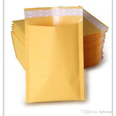 """100 8.5"""" x 12"""" #2 Kraft Bubble Mailers Padded Envelopes - Local Pickup"""