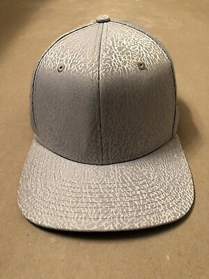Nike Air Jordan Retro 3 True Og New Snapback Hat Grey Blue Cap 802029 024 70eae5b0959f
