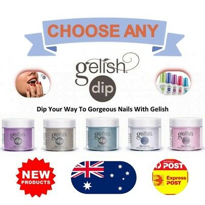 Harmony Gelish Dip SNS Dipping Powder Nail System 23g Choice of Colours + GIFT