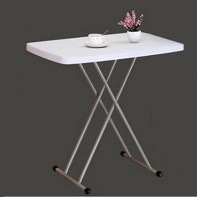 Nice Portable Lifetime Height Adjustable Folding Personal Table,2Ft 6in UK STOCK