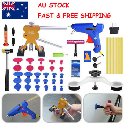 AU Stock Paintless Hail Dent Repair Removal Dent Lifter Glue Gun PDR Tools Kit