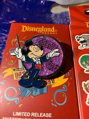 Disneyland Pin Celebrate Mickey Mouse Party 2019 Conductor Limited Release