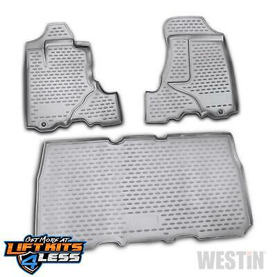 Westin 74-15-31003 Txt Surface Profile Floor Liner Pair for 03-11 Honda Element