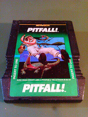 Pitfall! (Mattel Intellivision System, 1982) Tested/Works!!!