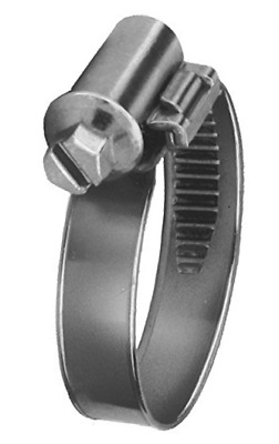 Precision Brand Smooth Band Metric Worm Gear Hose Clamp, 12mm - 20mm (Pack 47125