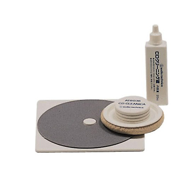 audio-technica AT6036 CD Disc Cleaner Cleaning Kit New from Japan