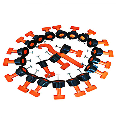 50pcs Tile levellers Tile Leveling Alignment System Wrench Reusable Spacer Floor