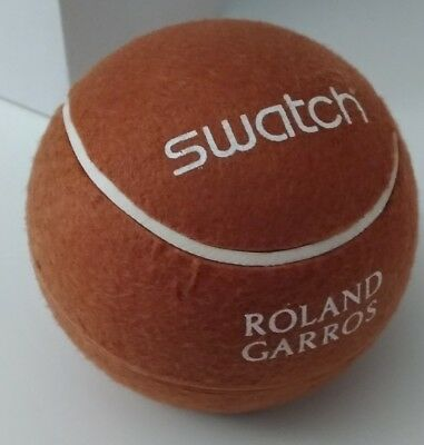Swatch Roland Garros 2006 Nwt Ge179 Tennis Ball Box
