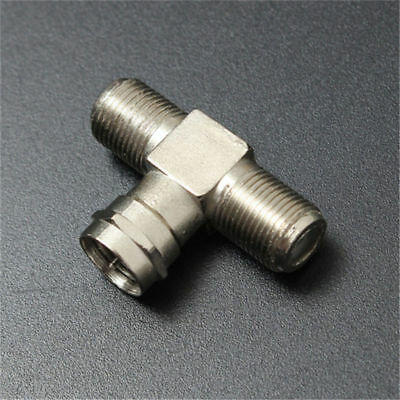 Splitter Combiner TV Coaxial 2-Way F-Type Connectors Cable RF Adapters Joiners