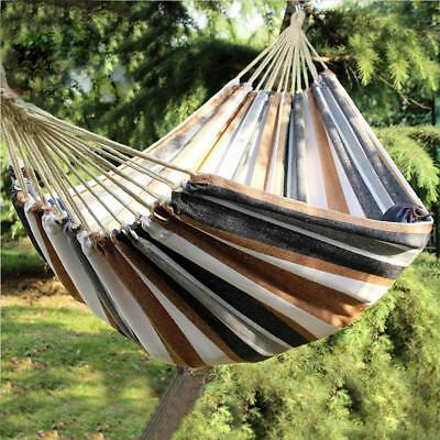 350KG Double Hammock Air Chair Hanging Swinging Bed Outdoor Camping Activities