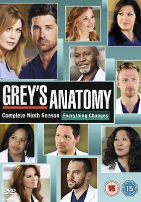 Grey's Anatomy Complete 9th Season Dvd Ellen Pompeo Brand New & Factory Sealed