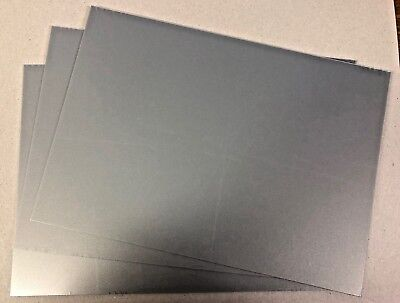 Silver Pearl Plasticard 1.5mm 60 thou Sheet A4 High Impact Polystyrene