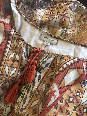 AUTOGRAPH beautiful Vintage Looking Top Size 24 A1