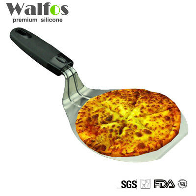 Steel Pizza server Peel grade Lifter Cake Stainless plastic WALFOS Pizza cake