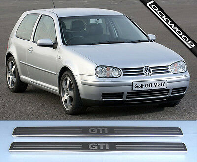 VW Golf Mk4 GTi (97 to 03) 2 Door Stainless Steel Sill Protectors / Kick Plates